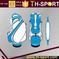 China Golf Bag Leather Golf Staff Bag on sale