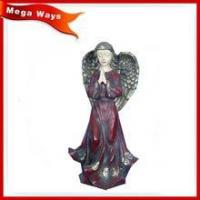 Buy cheap wholesale indoor decorative statue resin angels resin manufacturing from wholesalers
