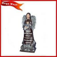 Buy cheap high quality resin centre decorate resin lady figurine resin angel figurine from wholesalers