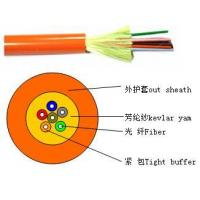 Quality Distribution tight buffer optical cable(GJFJV) for sale
