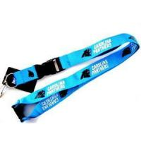 Quality flat promotional polyester lanyard for sale