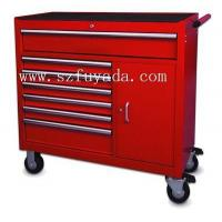 42 inch wide trolley with nine drawers