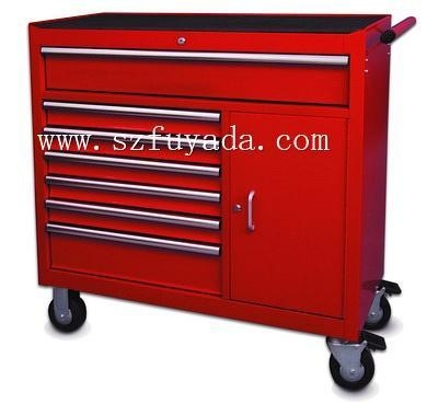 Buy 42 inch wide trolley with nine drawers at wholesale prices