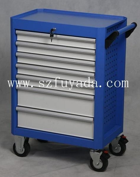 Buy 28 inch wide seven drawer trolley at wholesale prices