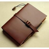 Buy cheap Leather notebook, write ability, meeting record book, Notepad, high-grade leather Notepad, Notepad from wholesalers