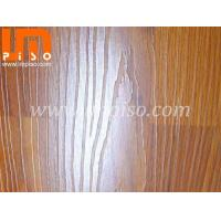 Quality Three strips royal oak wood large embossed laminate flooring for sale