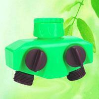 China 2-Way Garden Hose Splitter Tap Connector HT1221C on sale
