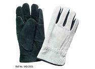 Buy Cowhide Full Leather protective hand driver leather gloves at wholesale prices