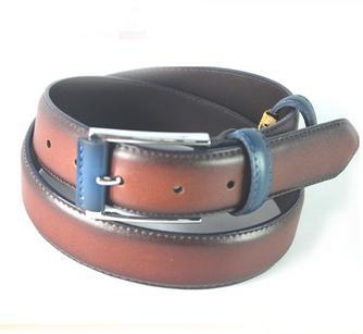 Buy 2015 Color Matched Oily Genuine Leather Belt For Men, Mans Cow Hide Belt at wholesale prices