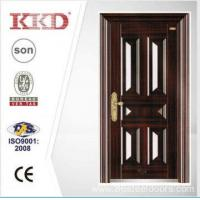 Quality 2014 New Design Security Steel Door KKD-106 With New Pait Main Door Made In China for sale