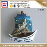 Quality Popular Stylish Decoration Customized 3D Resin Country Souvenir Fridge Magnets for sale