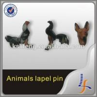 Quality Cheap custom animal style printed badge for sale