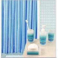 Quality 180*180cm Bathroom peva shower curtain with hook for sale