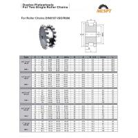 Quality duplex platewheels for two single roller chains—HUZHOU MAILONG MACHINERY CO.,LTD. for sale