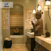Quality Durable waterproof and fireproof sandstone texture 3d wall art for hotel for sale