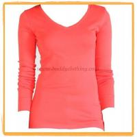 Quality 100% Organic Cotton L/S T-shirt 12006 for sale