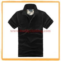Quality Business Cotton Blank Polo Shirt 11002 for sale