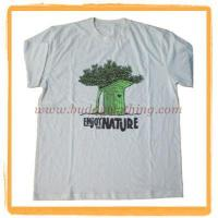 Quality 100% Organic Cotton Mens T-shirt 12008 for sale