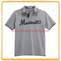Quality Embroidered Pique Polo Shirt 11004 for sale
