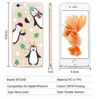 Transparent TPU Mobile Phone Cover for iPhone 6 Case
