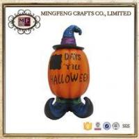 Quality Holiday Products Vintage Halloween Resin Decoration Spooky Pumpkin for sale