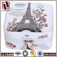 New Box PU leather printing cosmetic gift storage box design