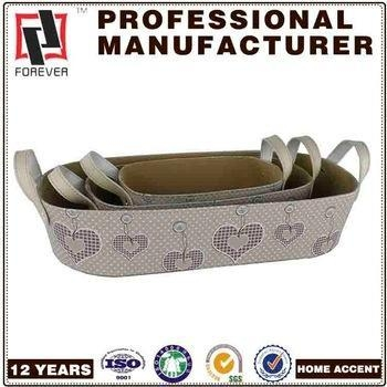Buy New Basket Leather pu design custom car basket in bulk at wholesale prices