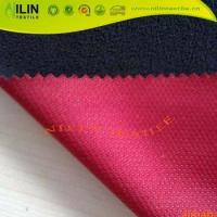 Quality Mesh bonded fleece Breathable softshell jackets fabric for sale