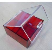 Quality 2015 new deisgn hand-made acrylic makeup box, cosmetic organizer for sale