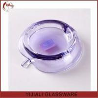 Quality colored cheap apple shaped glass ashtray for sale