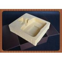 Quality good quality flocking blister tray for packaging wine,customized new blister insert with flocking for sale