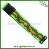 Quality eco-friendly stylish leather luggage straps for sale