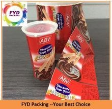 Buy Beautiful Printed Shrink Wrap Plastic Cup Sleeves at wholesale prices