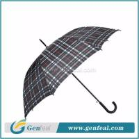 China 23inch 8k ribs standard size automatic rain umbrella with uv protection for adults on sale