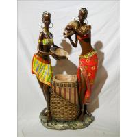 Quality ITEM NO: LSY11036 SIZE(CM): 23812*40 MOQ(PCS): DESCRIPTION: POLY AFRICAN DESIGN FOUNTAIN for sale