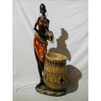 Quality ITEM NO: LSY11035-2 SIZE(CM): 19*11*41.5 MOQ(PCS): DESCRIPTION: POLY AFRICAN DESIGN FOUNTAIN for sale
