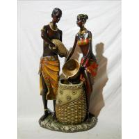 Quality ITEM NO: LSY11029-2 SIZE(CM): 21*17.5*41.5 MOQ(PCS): DESCRIPTION: POLY AFRICAN DESIGN FOUNTAIN for sale