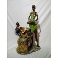 Quality ITEM NO: LST11033-2 SIZE(CM): MOQ(PCS): DESCRIPTION: POLY AFRICAN DESIGN FOUNTAIN for sale