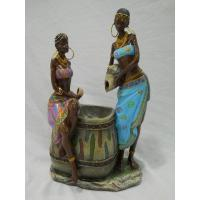 Quality ITEM NO: LSY11032 SIZE(CM): 17*10*27 MOQ(PCS): DESCRIPTION: POLY AFRICAN DESIGN FOUNTAIN for sale