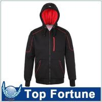 Quality Hoodie polyester berber Fleece hoodie,men zipper hoodie with lining ,men stylish hoodie for european for sale