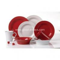 Tableware home using ceramic color glaze dinner set