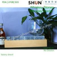 China whisky rock stone ,whiskey stones,beer stone,whisky ice stone, bar accessaries on sale