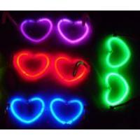Quality glow in the dark heart shape glasses G-P0096 for sale