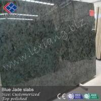 Quality Blue jade stone, polished slabs for sale