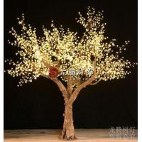 New products 2016 nature trunk Warm white led cherry blossom tree light