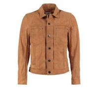 Leather Jacket Men's Leather Jackets With Button Closed for sale