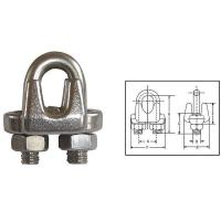 Quality G450 US Type Drop Forged Wire Rope Clips for sale