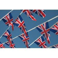 Quality British Triangle Flag Bunting for sale