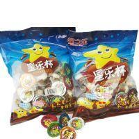 Bagged Happy Star Cup Product 8.5g Chocolate with Biscuit