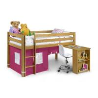 China Cabin Beds Julian Bowen Pink Wendy Sleeper In Solid Pine on sale